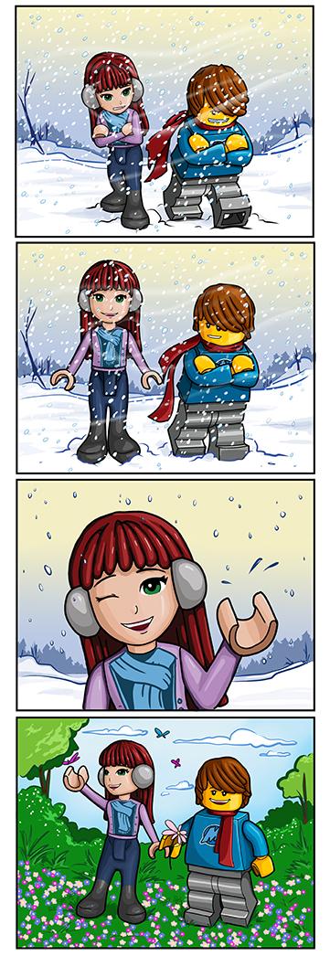 Max and Nina Comic