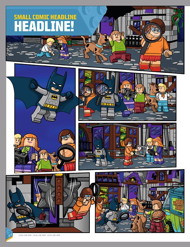 Scooby Doo- 1 page spread