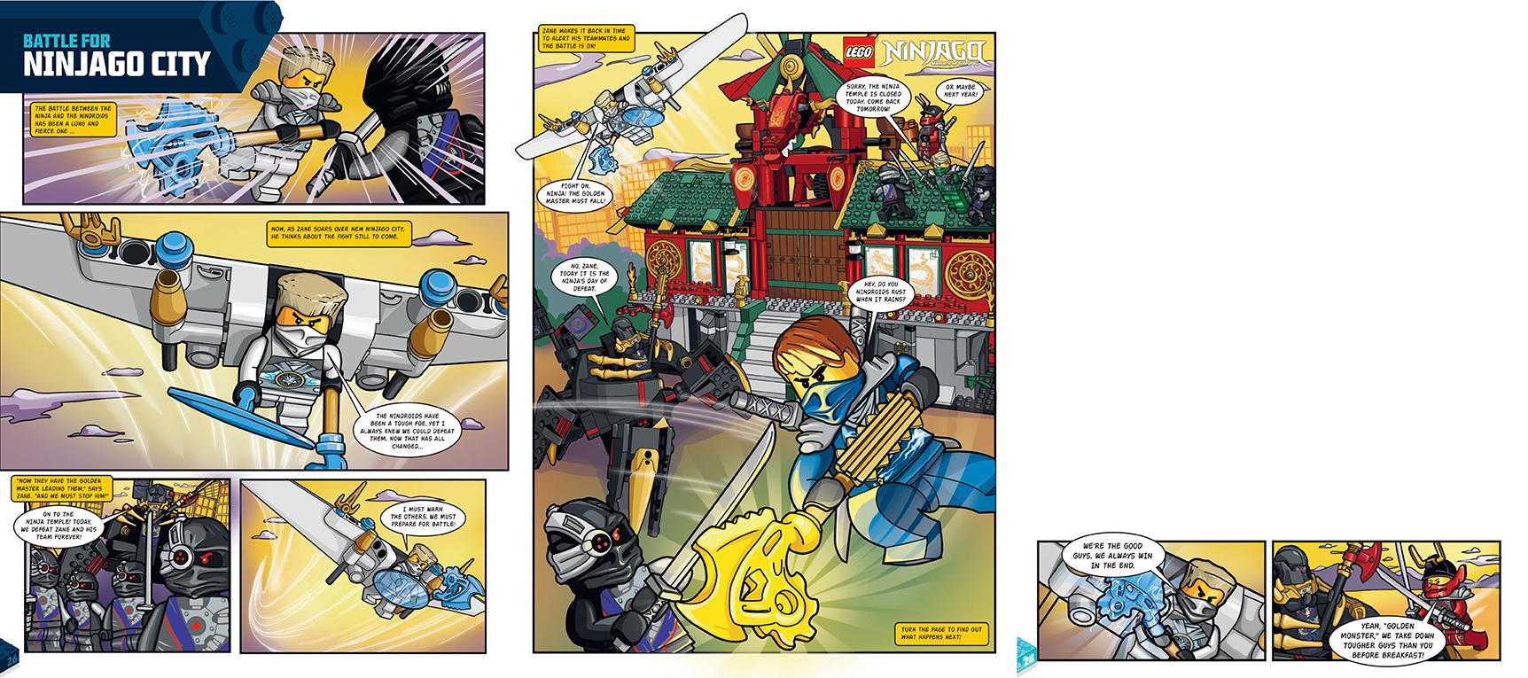 Ninjago- 2.25 Page Spread