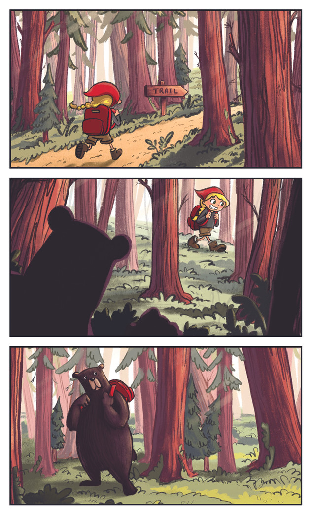 3 Panel Comic
