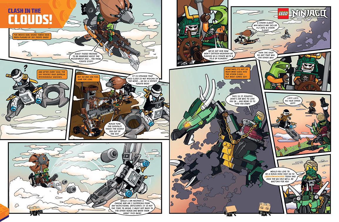 Ninjago- 2 page spread