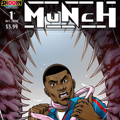 Munch comic book Issue 1