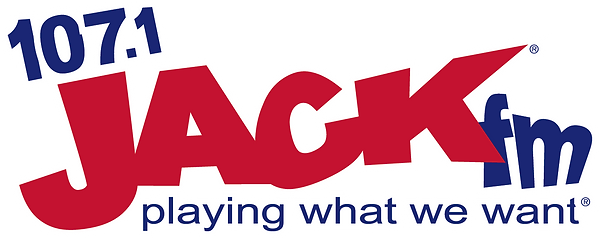 107.1 Jack FM Large Logo WYUP