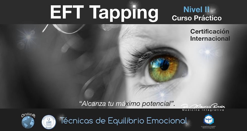 Cartel Curso EFT 2 Online febrero 2021 p