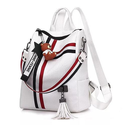 Texture Shoulder Japan Leisure Travel Academy Backpacks Bags