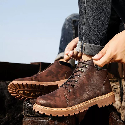 Men's Martin Boots Tide Wild Fashion The Tooling Version Of Trend Military