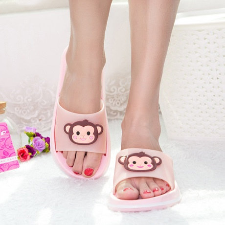 Brand Version Cartoon Comfortable Breathable Drag Slippers Couple Home Flooring