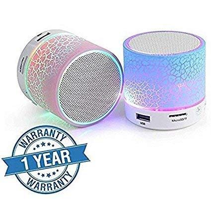 Gio Zone Mini S10 Bluetooth Speaker (Assorted Color)