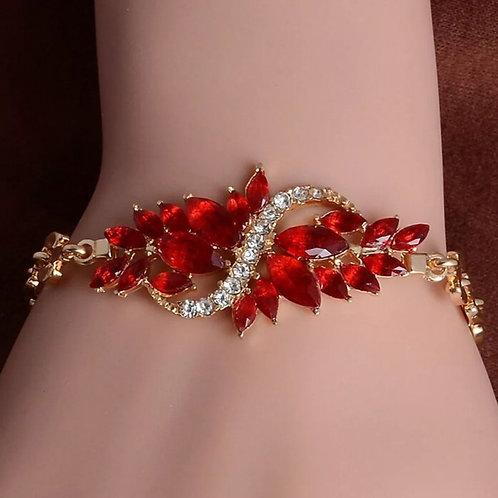 Fashion Leaf Bangle Bracelets