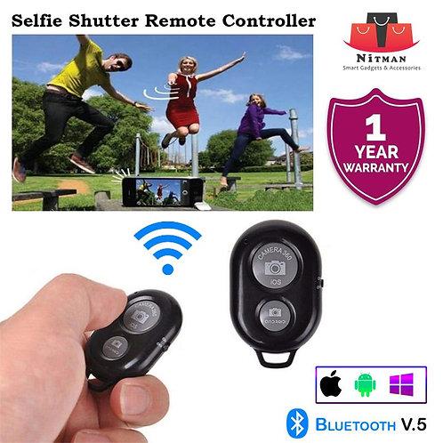 Nitman Bluetooth Wireless Shutter Remote Control Phone Camera Selfie Stick Monop