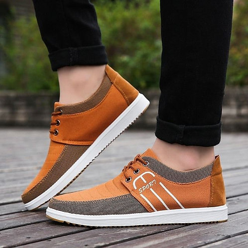 The Wild Male Shoes Men Leisure Breathable Canvas