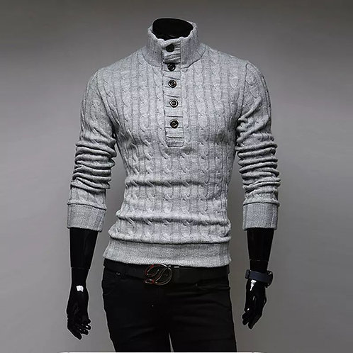 Men's Slim Warmer Turtleneck Sweater