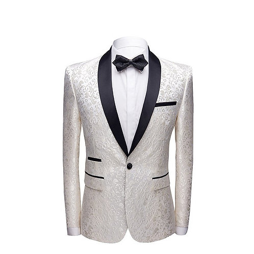 Embroidered Fashion Comfortable Casual Business Slim Men's Blazer