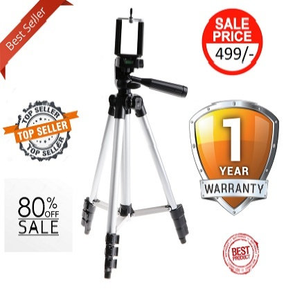 110 Portable Camera Tripod Stand Holder Clip 1 YEAR REPLACEMENT WARRANTY