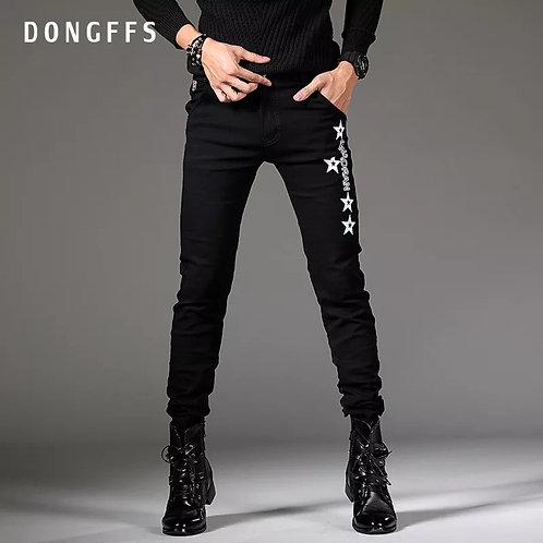 Men Tide Brand Fashion Leisure Jeans