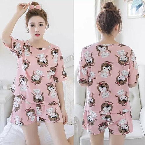 Version Of Pajamas Cartoon Loose Suits