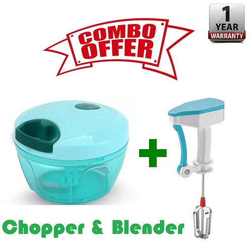KINGSGATE SPECIAL COMBO OFFER Handy Blender and Handy Chopper for Kitchen