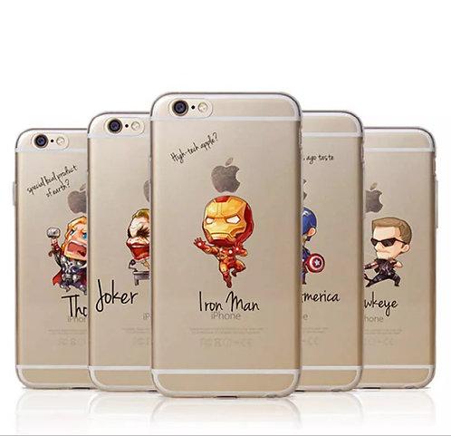Cartoon Avenger Mobile Phone Case