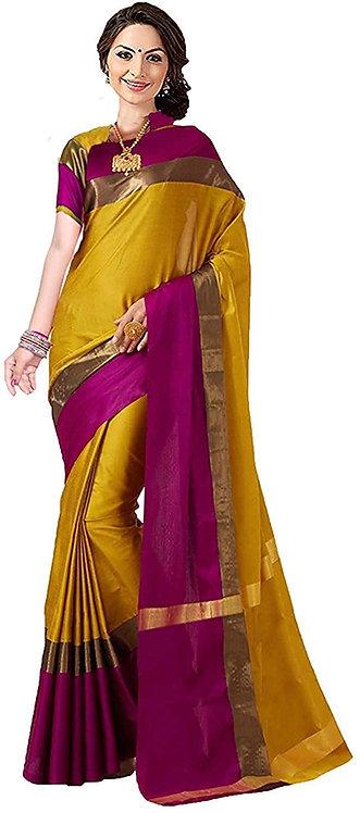 Yashika Women Cotton Silk saree SDPL-SHREEJI P