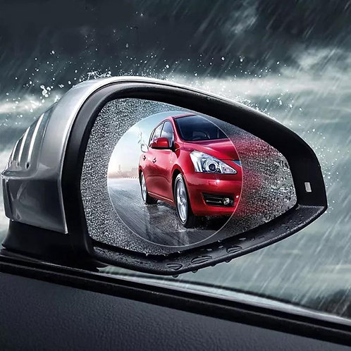 Anti Fog Membrane Car Rear Mirror Sticker Anti-glare Waterproof Rainproof Window