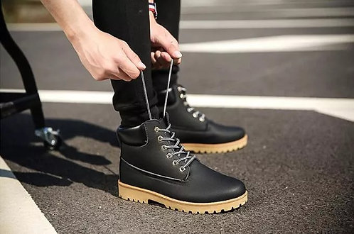 The Martin Boots Men Short Male Army England Tooling Fashion Leisure Shoes