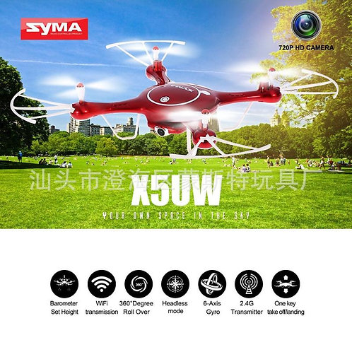 Sima Four Axis Aircraft Fixed Height Orbit Flight Somatosensory Uav Wifi