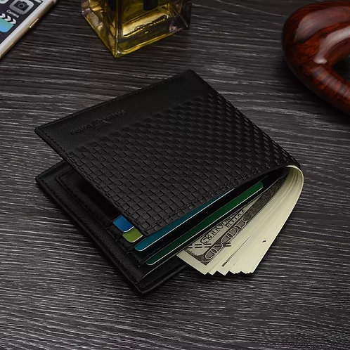 Men's Wallet Fashion Trend Short Wallet Classic Bag