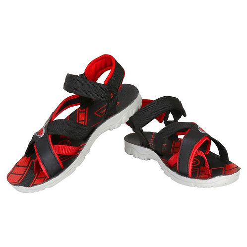 Camfoot Men Red Casual Flats, Sports,Sandals & Floaters