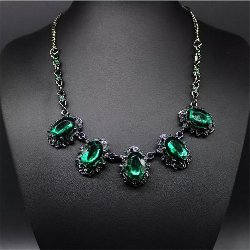 Crystal Exaggerated Necklace