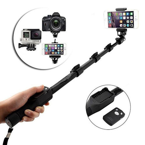 Lambent 1288 Bluetooth Selfie Stick for Smartphones Action and Digital Camera