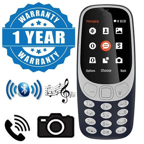 Captcha A3310 Multimedia Dual Sim Multifunctional Dual Sim Keypad Phone