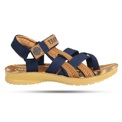 Anupreksha Blue Tan Sandal for Men