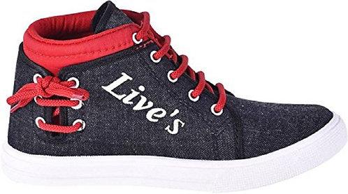Anupreksha Red Casual Shoes for Men