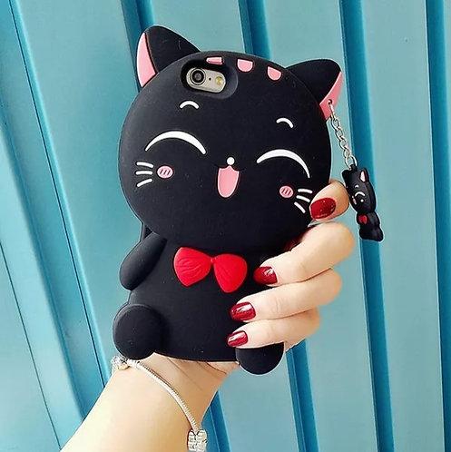 Creative Cute Cat Cartoon Phone Case For Millet
