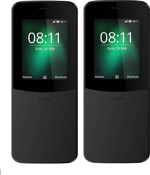 I Kall K36 Combo Of Two Mobiles Phone With 2.4 Inch Screen (black)