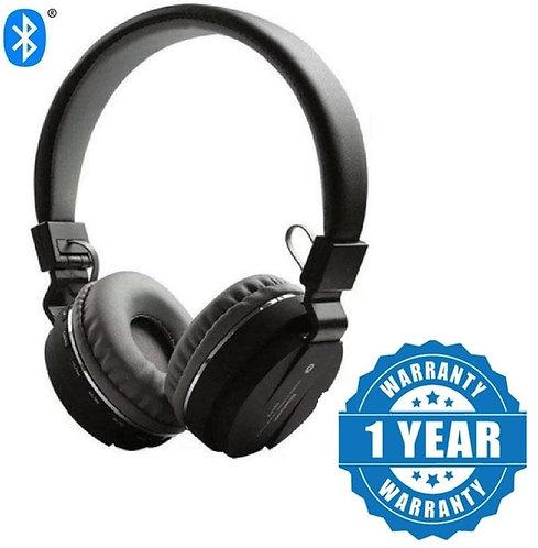Captcha SH12-Stereo Dynamic Headphone with FM Card Slot Bluetooth Headphones