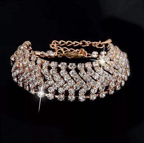 Luxury Crystal Joker Bracelet