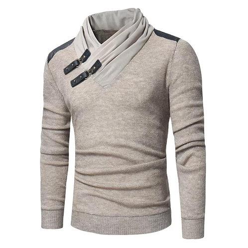Men Long Sleeved Knitted Sweater