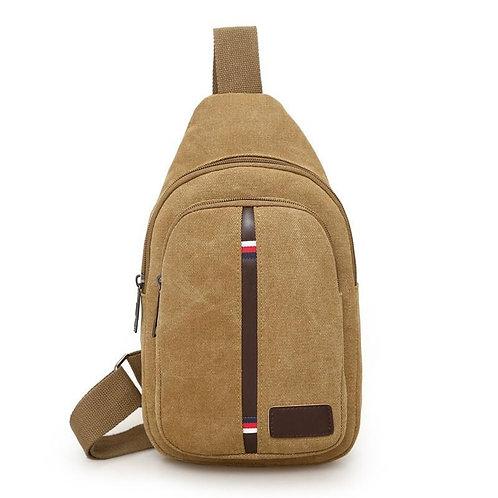 Direct Men's Canvas Breast Bag Satchel Casual Single Shoulder Wearable Sports
