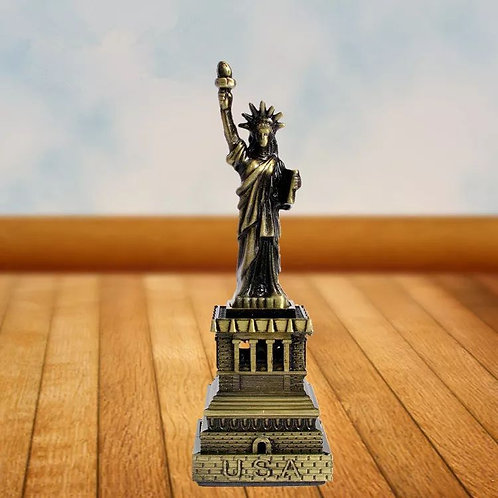 Statue Of Liberty Creative Ornament Home Accessories Retro European Metal
