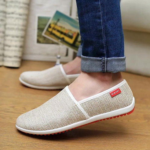 Men Breathable Peas Shoes