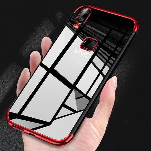 Vivo V9 V11pro Phone Case Fashion High-end Transparent Plated Mobile Shell Tpu S