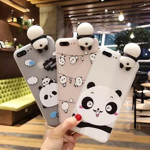 Cartoon Panda Phone Case Iphone