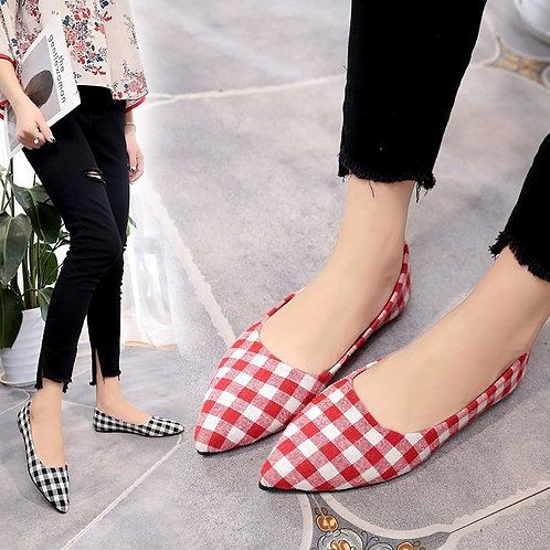 Women's Pointed Flat Shoes