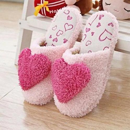Women's Sweet Warm Plush Indoor Slippers