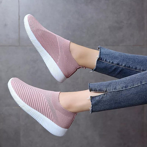 Women's Flats Fashion Casual Breathable Soft Sole Sports Shoes