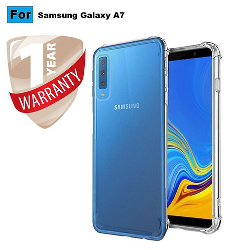 Samsung Galaxy A7 Mobile Protective Back Case Cover (Transparent)