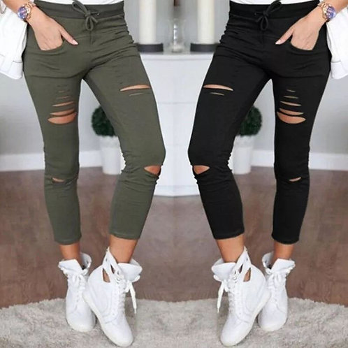 Sexy High Waisted Stretch Skinny Jeans
