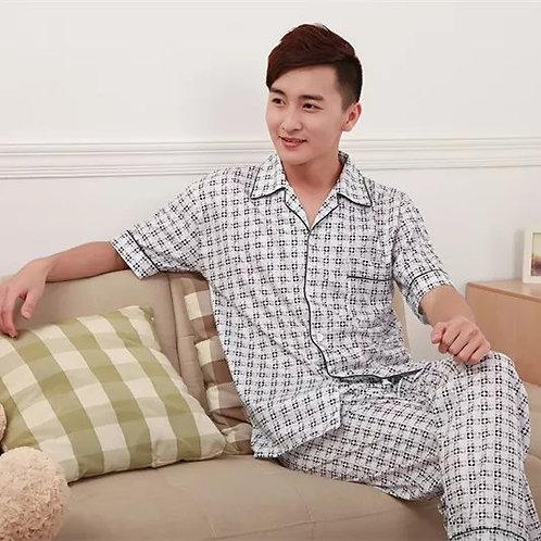Men's Pajamas Thin Home Suit