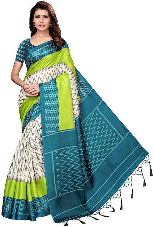 Marriage Wear Replica Sarees Wedding Casual Design With Blouse Material